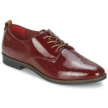 Schuhe Damen Derby-Schuhe Bugatti VICTORIA Bordeaux