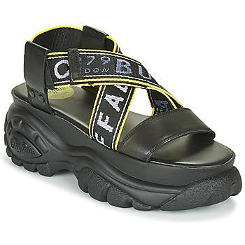 Schuhe Damen Sandalen / Sandaletten Buffalo 1501024 Schwarz