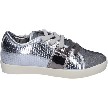 Schuhe Mädchen Sneaker Low Enrico Coveri BR260 silber