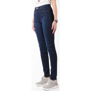 Kleidung Damen Röhrenjeans Lee Jeanshose  Scarlett High L626AYNA dunkelblau