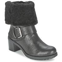 Schuhe Damen Boots Clarks PILICO PLACE Schwarz