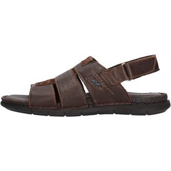 Schuhe Herren Sandalen / Sandaletten Valleverde - Sandalo testa di moro 20831 MARRONE