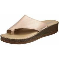 Schuhe Damen Zehensandalen Jenny By Ara Pantoletten puder (hellkupfer-braun) 22-17716-09 Marrakesch rosa