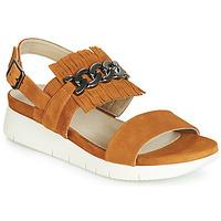 Schuhe Damen Sandalen / Sandaletten Dorking 7863 Braun