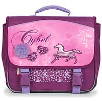 Taschen Mädchen Schultasche Rentrée des classes CYBEL CARTABLE 38 CM Rose