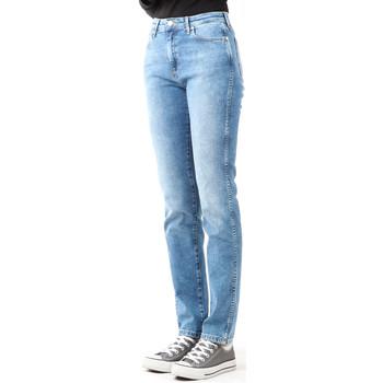 Kleidung Damen Röhrenjeans Wrangler Jeanshose  Boyfriend Best Blue W27M9194O blau
