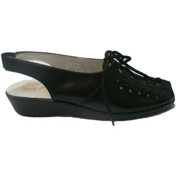 Schuhe Damen Sandalen / Sandaletten Doctor Cutillas  Geschnürte Sandale  sch Schwarz