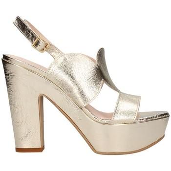 Schuhe Damen Sandalen / Sandaletten Martina B 19-601-c9-cr Platin