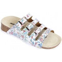 Schuhe Damen Pantoffel Weeger Keilpantolette 11460-11 mosaik11