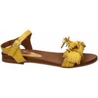Schuhe Damen Sandalen / Sandaletten Café Noir SANDALO CON FIOCCO IN VITELLO 1958-giallo