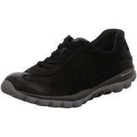 Schuhe Damen Sneaker Low Rollingsoft By Gabor Schnuerschuhe 96.965.47 schwarz