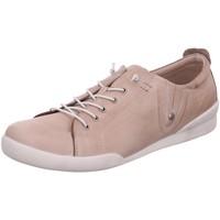 Schuhe Damen Sneaker Low Andrea Conti Schnuerschuhe 0345724111 rosa