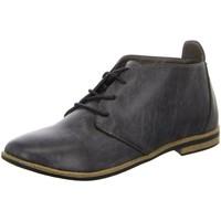 Schuhe Damen Ankle Boots Laufsteg München Stiefeletten M+M P5 HW150202P HW150202P-001 braun