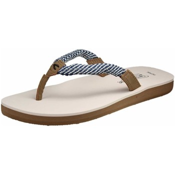 Schuhe Damen Zehensandalen Camel Active Pantoletten Hulu 60 900.60.01 blau