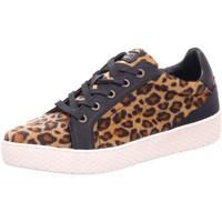 Schuhe Damen Sneaker Low Bugatti Schnürhalbschuh Fergie Revo 432-52513-6959 6210 animal