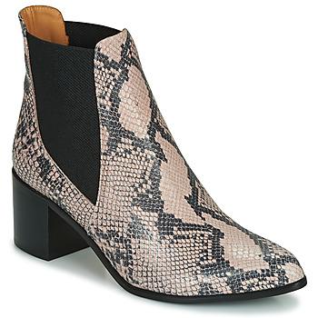 Schuhe Damen Low Boots Emma Go GUNNAR Beige
