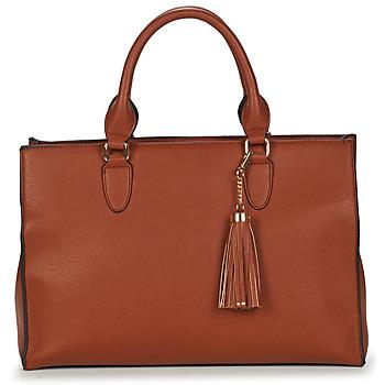 Taschen Damen Shopper / Einkaufstasche André LISE Camel