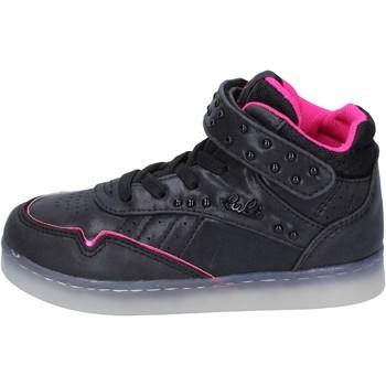 Schuhe Mädchen Sneaker High Lulu sneakers kunstleder schwarz
