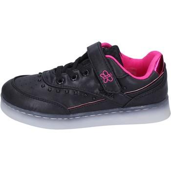 Schuhe Mädchen Sneaker Low Lulu sneakers kunstleder schwarz