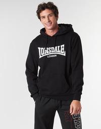 Kleidung Herren Sweatshirts Lonsdale WOLTERTON Schwarz
