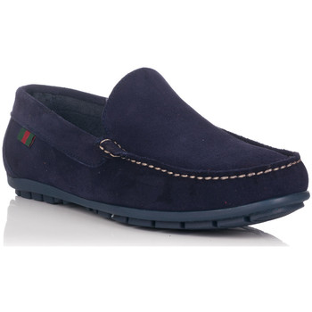 Schuhe Damen Slipper Crab 81127 Blau