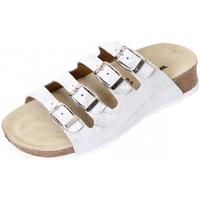 Schuhe Damen Pantoletten / Clogs Weeger Keilpantolette 11460-12 silber 12