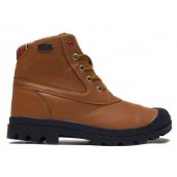 Schuhe Damen Boots Little Marcel Bottines Presto H14IGC010 Camel Braun