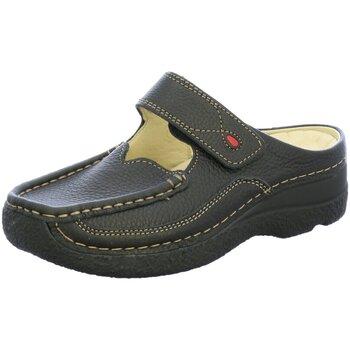 Schuhe Damen Pantoletten / Clogs Wolky Pantoletten 6227 6227700 schwarz
