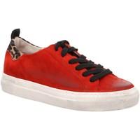 Schuhe Damen Sneaker Low Paul Green 4748 4748-044 rot
