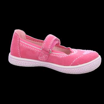 Schuhe Mädchen Derby-Schuhe & Richelieu Lurchi By Salamander Spangenschuhe TAMY 33-15280-23 pink