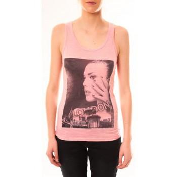 Kleidung Damen Tops By La Vitrine Débardeur D2709 Fushia Rose