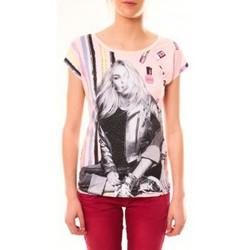 Kleidung Damen T-Shirts By La Vitrine Top Clara 1104 Beige Beige