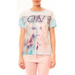 Kleidung Damen T-Shirts By La Vitrine Top Love B002 Vert Grün