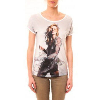 Kleidung Damen T-Shirts By La Vitrine Tee-shirt MC1497 Blanc Weiss