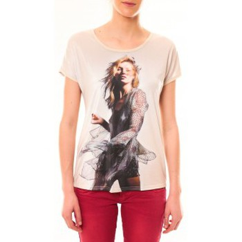 Kleidung Damen T-Shirts By La Vitrine Tee-shirt MC1497 Rose Rose