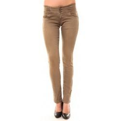 Kleidung Damen Straight Leg Jeans Dress Code Jeans Rremixx RX320 Beige Beige