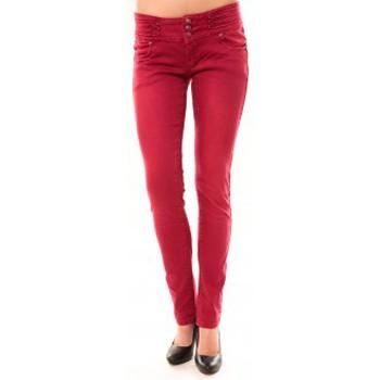 Kleidung Damen Straight Leg Jeans Dress Code Jeans Rremixx RX320 Rouge Rot