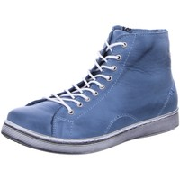 Schuhe Damen Boots Andrea Conti Schnuerschuhe 0341500-398 Bleu blau