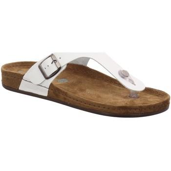 Schuhe Damen Pantoletten / Clogs Wolkenwerk Pantoletten 10101-10-100 weiß