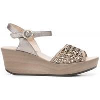 Schuhe Damen Sandalen / Sandaletten 24 Hrs 24 Hrs mod.21065 Beige