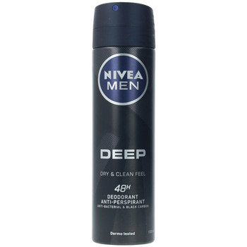 Beauty Herren Deodorant Nivea Men Deep Black Carbon Deo Zerstäuber  150 ml