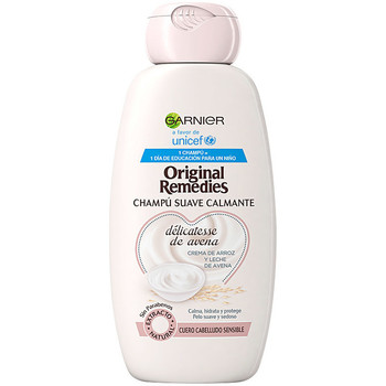 Beauty Damen Shampoo Garnier Original Remedies Champú Delicatesse De Avena  300 ml