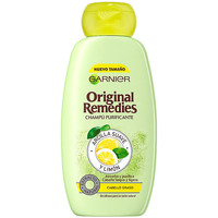 Beauty Damen Shampoo Garnier Original Remedies Champú Arcilla Y Limón  300 ml