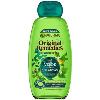 Beauty Damen Shampoo Garnier Original Remedies Champú 5 Plantas  300 ml