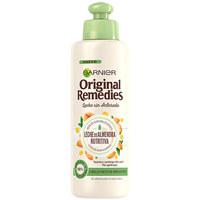 Beauty Damen Spülung Garnier Original Remedies Crema Sin Aclarado Leche Almendras