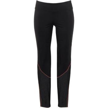 Kleidung Damen Leggings Lisca Energie  Wange Sport Leggings schwarz Perlschwarz