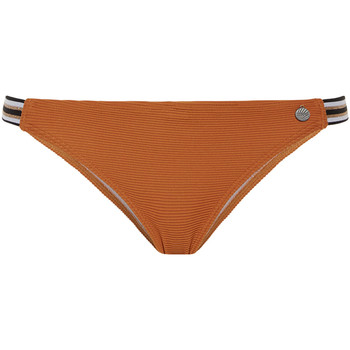 Kleidung Damen Bikini Ober- und Unterteile Beachlife Braune -Badeanzug-Strümpfe aus Leder Violett/oranget