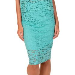 Kleidung Damen Röcke Lisca Strandrock Florida  grün Dunkelgrün