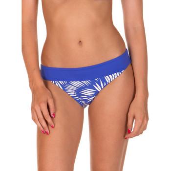 Kleidung Damen Bikini Ober- und Unterteile Lisca Lagos  blaue Badeanzug-Hose Blau