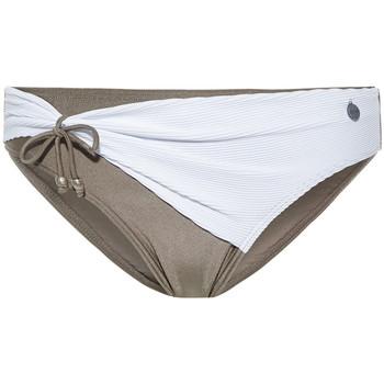 Kleidung Damen Bikini Ober- und Unterteile Beachlife Weiße Badestrümpfe mit Plisseefalten Weiß
